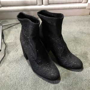 Express Glitter Ankle Boots